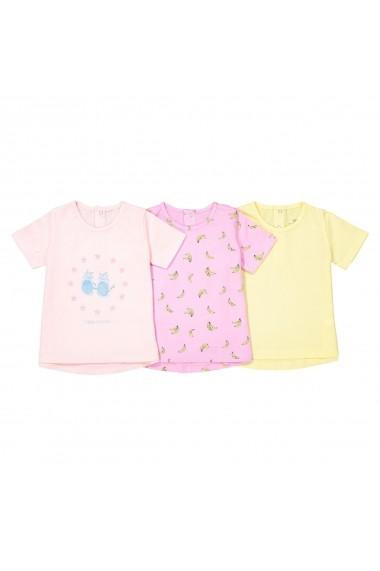 Set 3 tricouri La Redoute Collections GEA759 multicolor