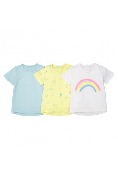 Set 3 tricouri La Redoute Collections GEB766 multicolor