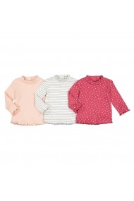 Set 3 bluze La Redoute Collections GGN299 roz
