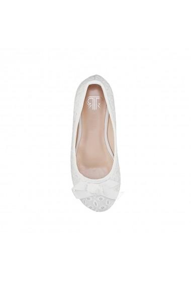 Pantofi La Redoute Collections GFM110 alb