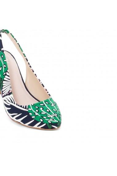 Pantofi cu toc La Redoute Collections GEH749 multicolor