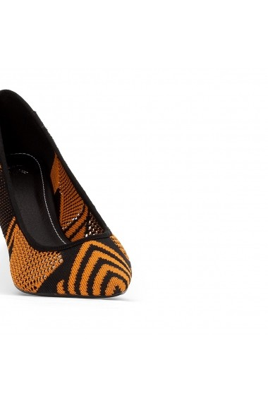 Pantofi cu toc La Redoute Collections GEP430 negru