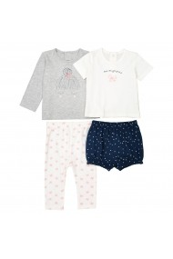 Set 2 pijamale La Redoute Collections GDV818 bleumarin - els
