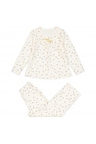 Pijama La Redoute Collections GGE813 alb