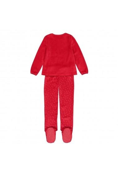 Pijama La Redoute Collections GGE816 rosu