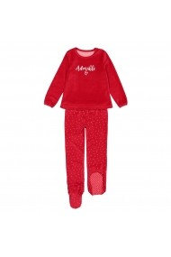 Pijama La Redoute Collections GGE816 rosu