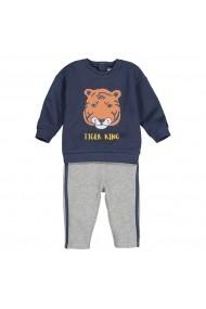Set bluza si pantaloni lungi La Redoute Collections GGH085 gri