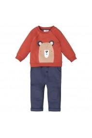 Set bluza si pantaloni La Redoute Collections GGH089 maro
