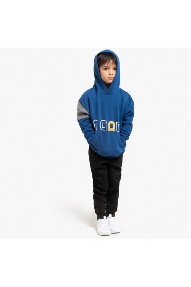 Set hanorac si pantaloni lungi La Redoute Collections GGK171 albastru
