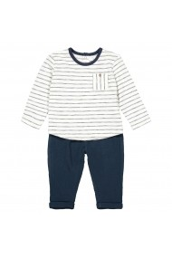 Set top si pantaloni La Redoute Collections GFN447 albastru