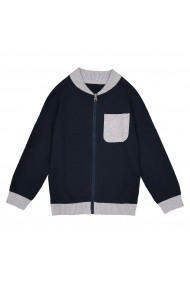 Cardigan La Redoute Collections GDY849 bleumarin