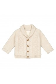 Cardigan La Redoute Collections GGM125 alb