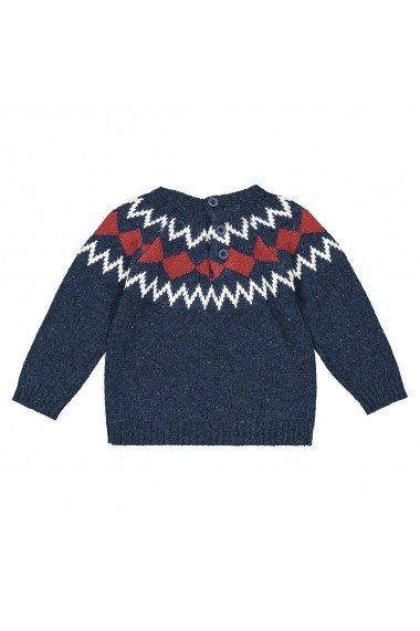 Pulover La Redoute Collections GGM139 bleumarin