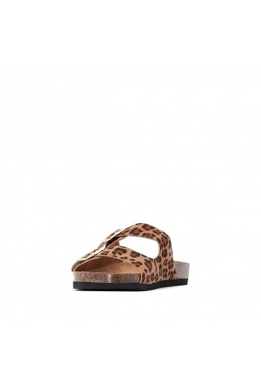 Papuci La Redoute Collections GGL305 animal print