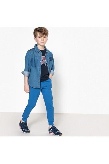 Pantaloni sport La Redoute Collections GEA096-blue Albastru