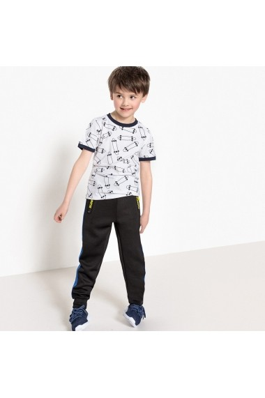 Pantaloni sport La Redoute Collections GEG499 negru