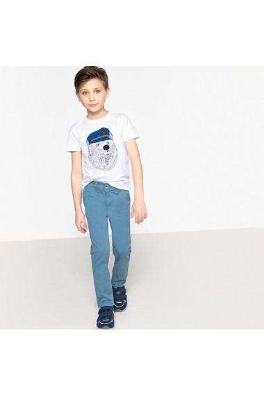 Pantaloni lungi La Redoute Collections GEJ235 albastru