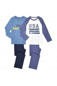Pijama La Redoute Collections GDX967 albastru