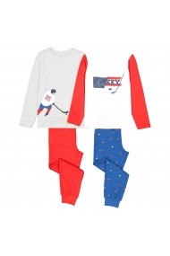 Pijama La Redoute Collections GGE151 gri