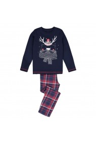 Pijama La Redoute Collections GGQ594 bleumarin