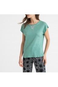 Tricou de pijama La Redoute Collections GFO643 verde