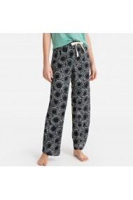 Pantaloni de pijama La Redoute Collections GFO666 negru