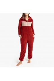 Pijama La Redoute Collections GGH693 bordo