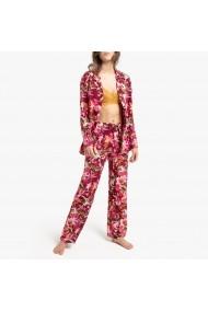 Pijama La Redoute Collections GGI670 bordo