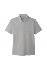 Tricou Polo La Redoute Collections GFL306 gri LRD-GFL306-3617