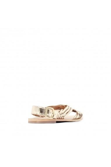 Sandale La Redoute Collections GGA477 auriu