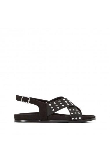 Sandale La Redoute Collections GFZ055 negru