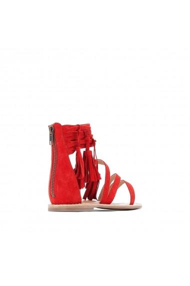 Sandale La Redoute Collections GFZ164 rosu