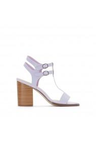 Sandale cu toc La Redoute Collections GEE903 lila - els