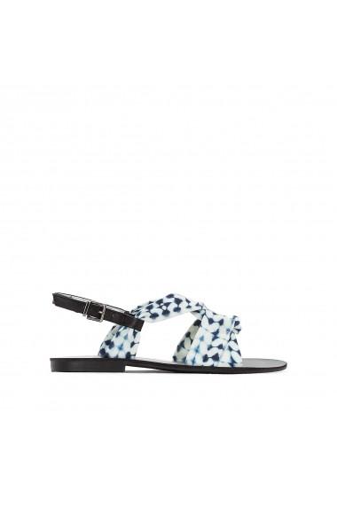 Sandale plate La Redoute Collections GEM271 albastru - els