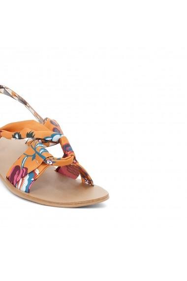 Sandale plate La Redoute Collections GEM271 multicolor - els