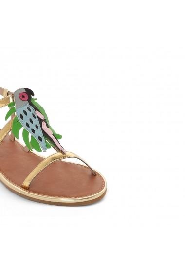 Sandale plate La Redoute Collections GER192 multicolor - els