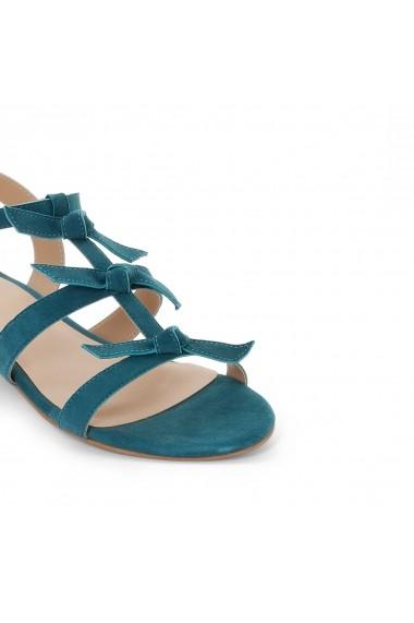 Sandale plate La Redoute Collections GES228 albastru