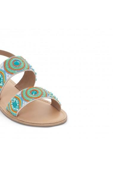 Sandale plate La Redoute Collections GET973-multi-coloured Multicolor