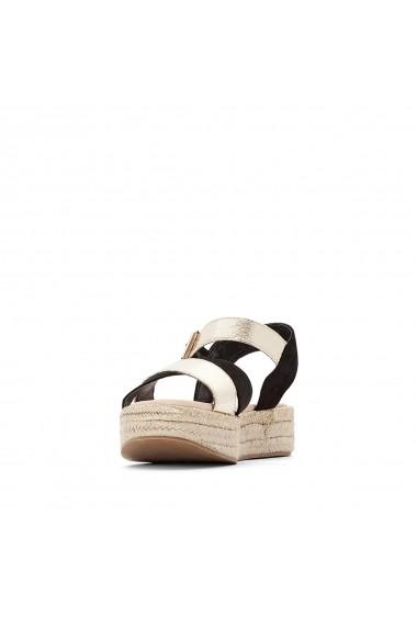 Sandale cu platforma La Redoute Collections GFY926 negru