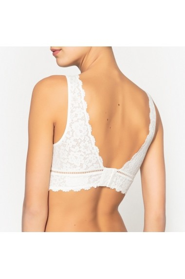 Sutien La Redoute Collections GDY710-ivory Alb