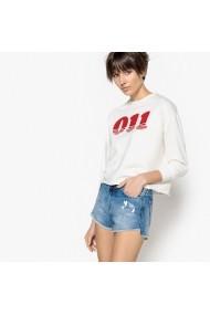 Bluza ecru cu maneca lunga La Redoute Collections GEV141