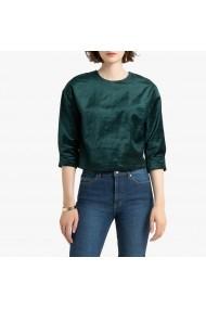 Bluza verde larga cu maneci lungi La Redoute Collections GGQ852