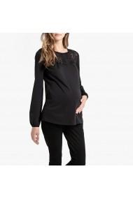 Тениска La Redoute Collections GGS295-6527 черно