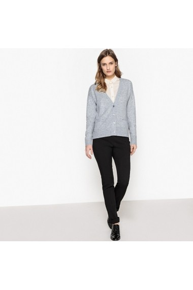 Cardigan La Redoute Collections GDH147 gri