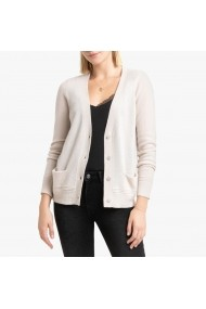 Cardigan La Redoute Collections GGK279 crem