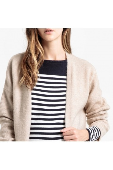 Cardigan La Redoute Collections GGS186 bej