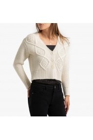 Cardigan La Redoute Collections GGT522 crem