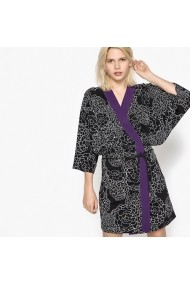 La Redoute Collections LRD-GEE476-black_print-white Fekete