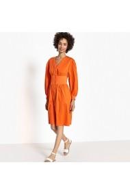 Rochie scurta La Redoute Collections GEG529 portocalie