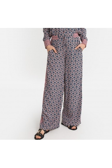 Pantaloni La Redoute Collections GGF307 bleumarin